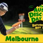 The Aussie Disc Golf Day FB cover photo Melbourne
