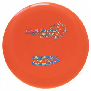 Innova-star-aviar-orange-with-blue-foil-stamp