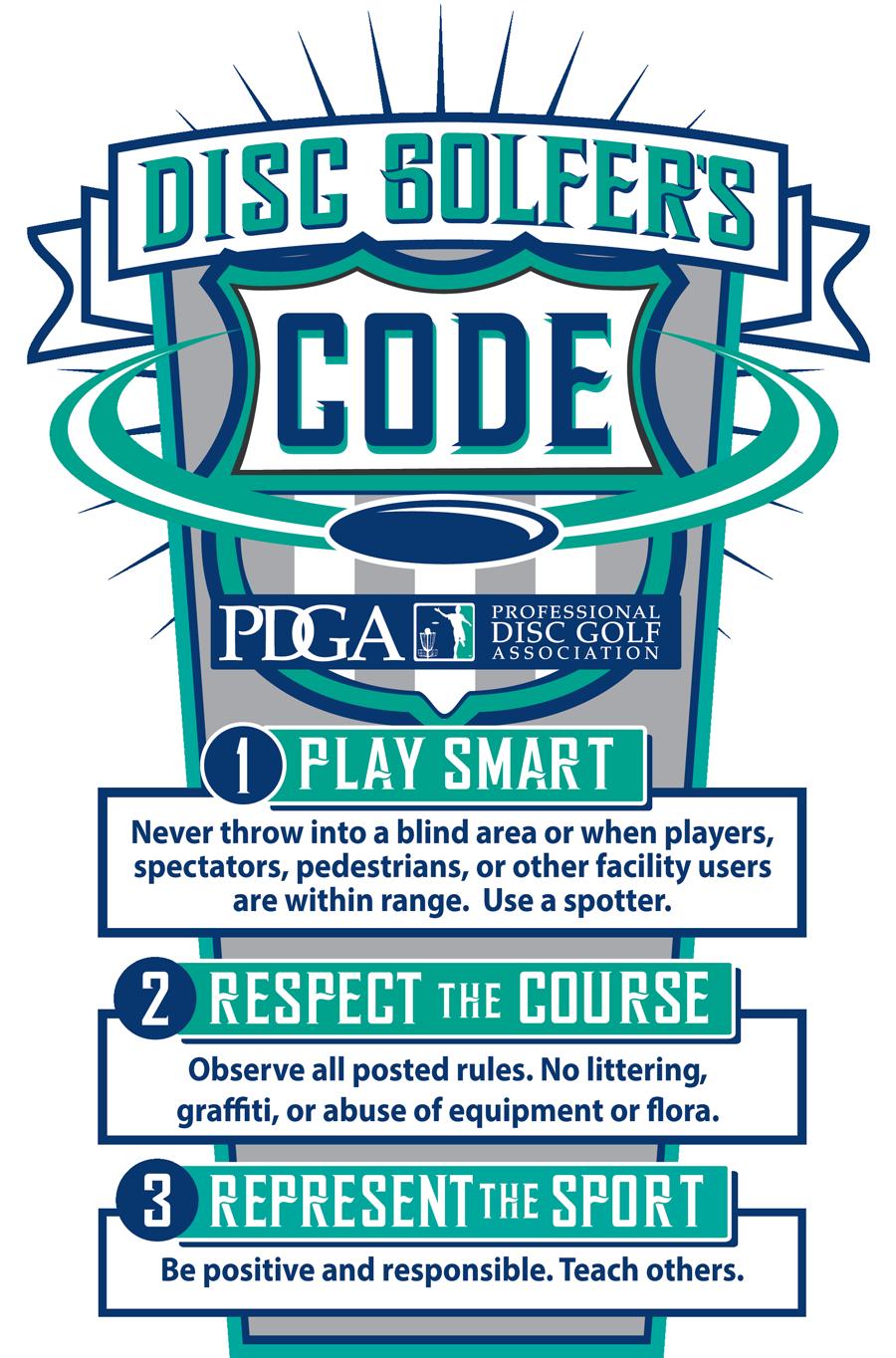 disc golf code