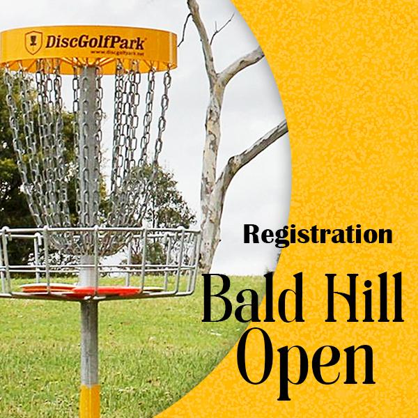 Bald Hill Open registration