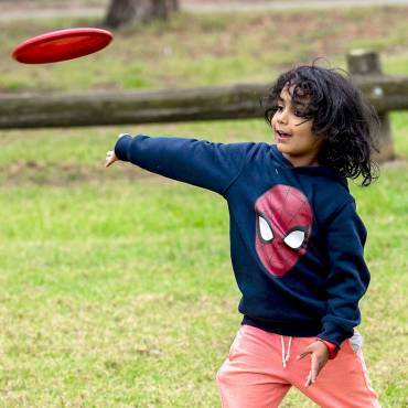 'Come and Try Disc Golf' day a hit with Banyule families