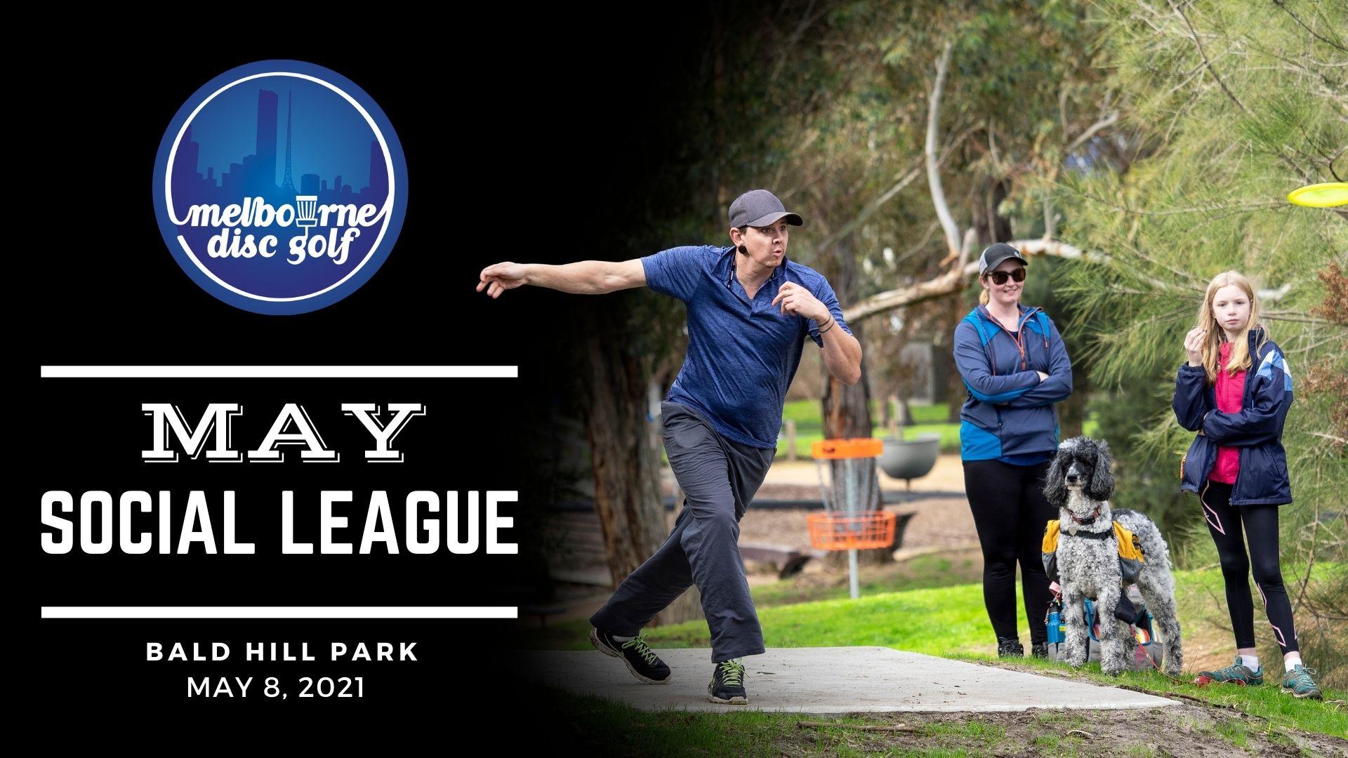 May Social Disc Golf Day at Bald Hill Park, Clarinda