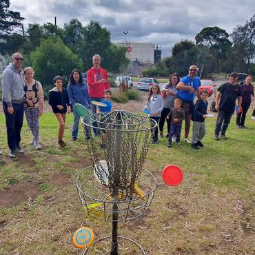 Maribrynong Residents Get Active with Disc Golf