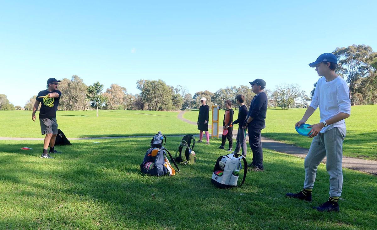 Disc Golf Clinic at Bald Hill Park