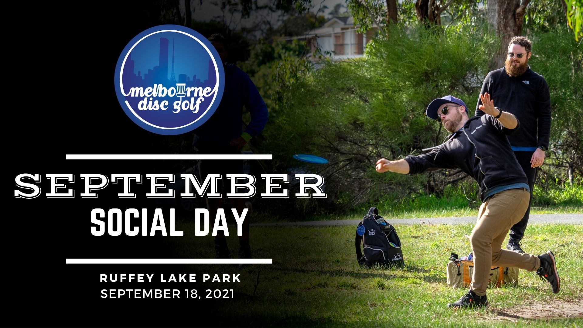 November Social Disc Golf Day at Ruffey Lake Park in Doncaster