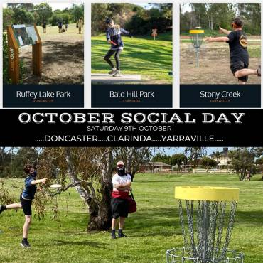 We just can't get enough disc golf!